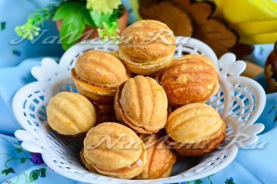 Рецепт печенья орешки со сгущенкой