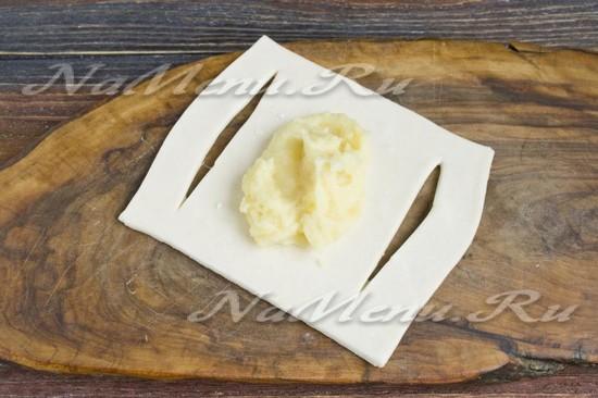 Выкладываем на картофель
