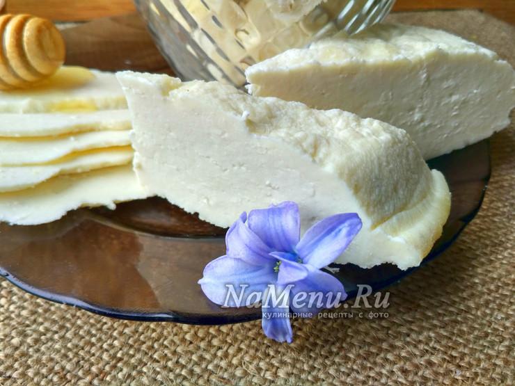 Сыр с пепсином в домашних условиях