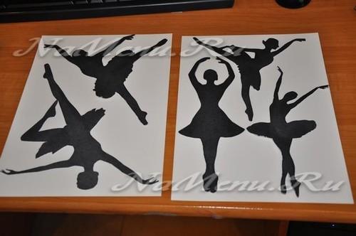 Делаем балерину снежинку из бумаги