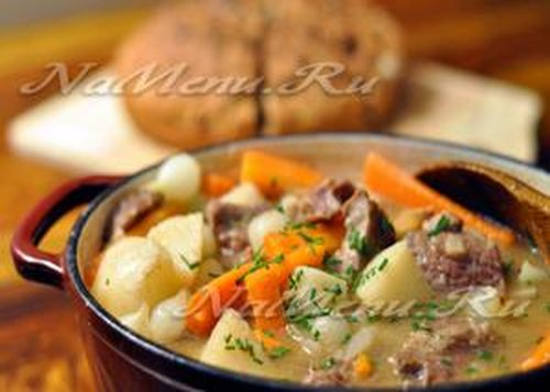 Лучшие рецепты приготовления овощного рагу с мясом