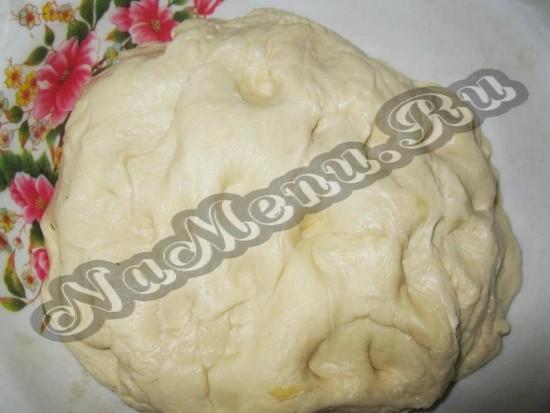 Подготовить тесто на пирог к Пасхе