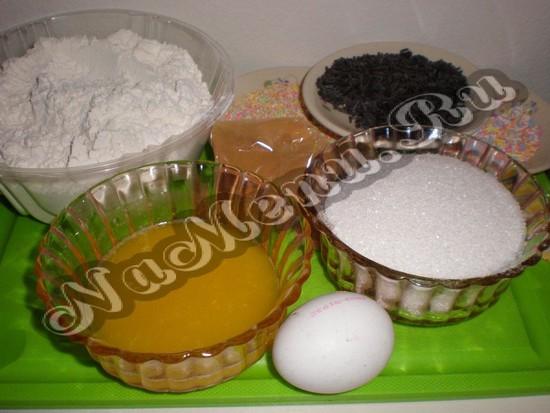 Компоненты для печенья