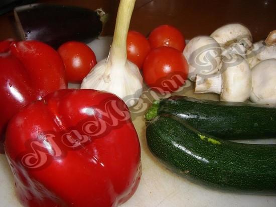Фрукты для гриль салата