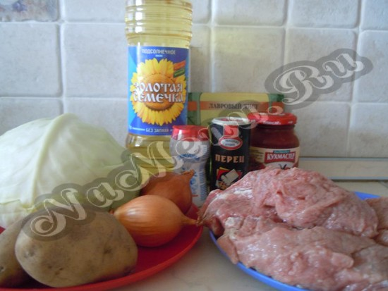 Подготавливаем продукты