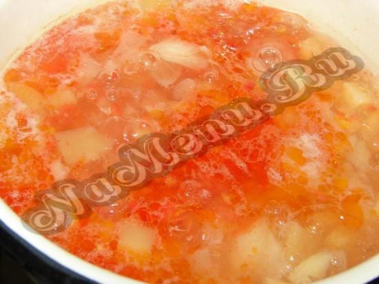 Дополняем томатное пюре