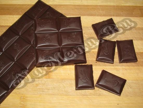Рушим шоколад