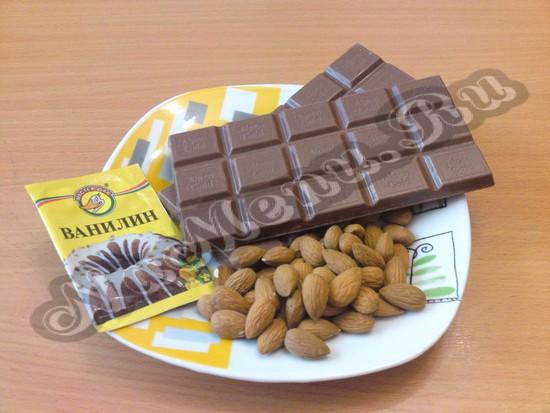 Компоненты для шоколадных конфет