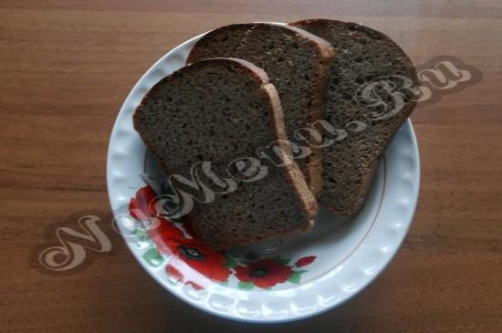 Нарезаем ломтики хлеба