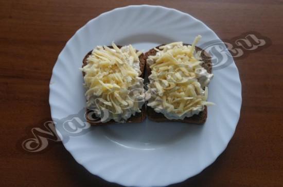 Обсыпаем сыром