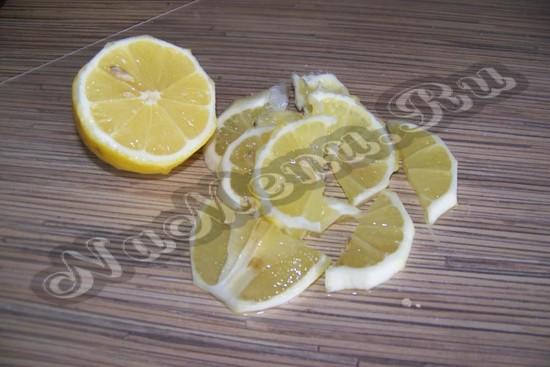 Нарезаем апельсин