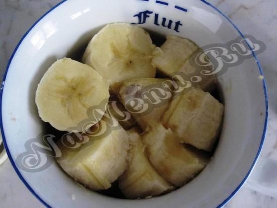 Готовим банановое пюре