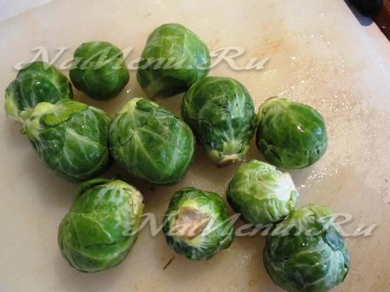 отварить брюссельскую капусту