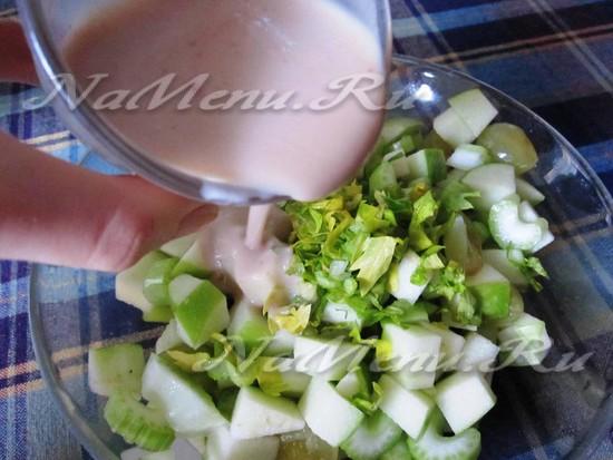 Нагружаем салат