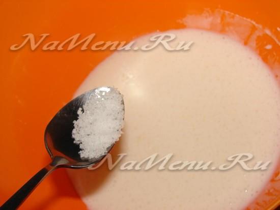 Дополняем сахар