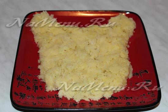 Пласт картошки