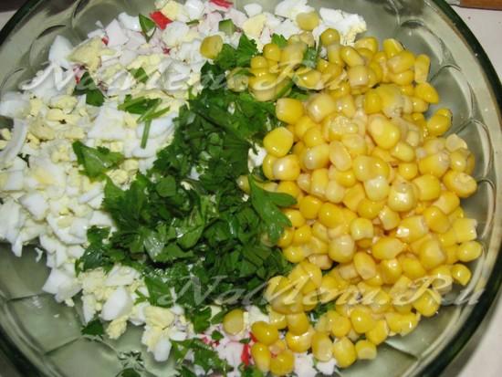 Дополняем кукурузу