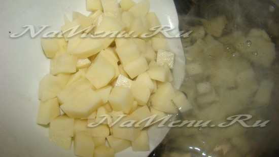 Кидаем картофель