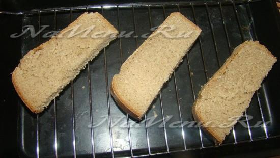 Сушим хлеб