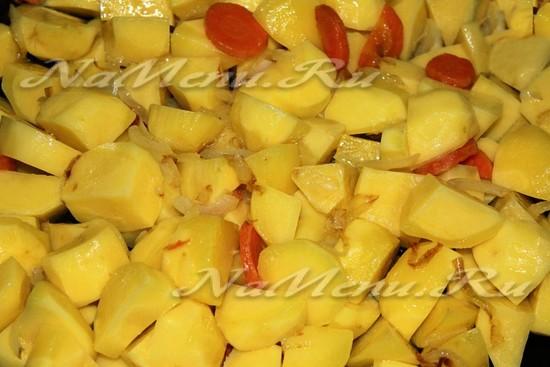 Отдаем картофель