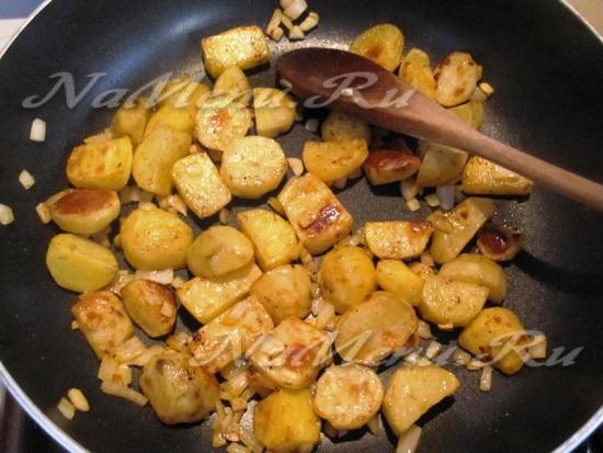 Дополняем картофель
