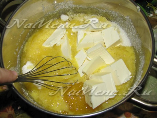 добавить жир и мед