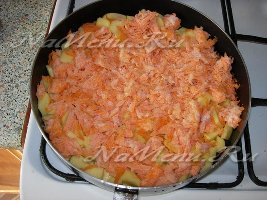 Намять морковь