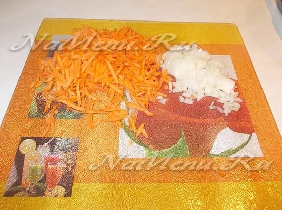 Дополняем морковь и чеснок