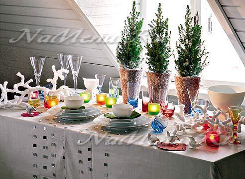 Как украсить стол салфетками своими руками
