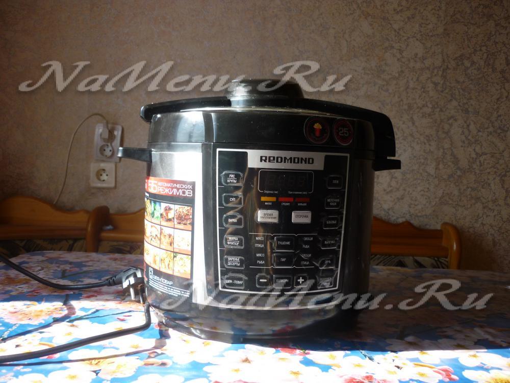 мультиварка redmond m110 рецепты приготовления