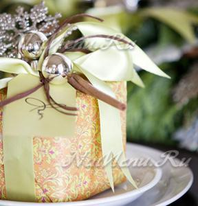 Новогодний подарок своими рукам