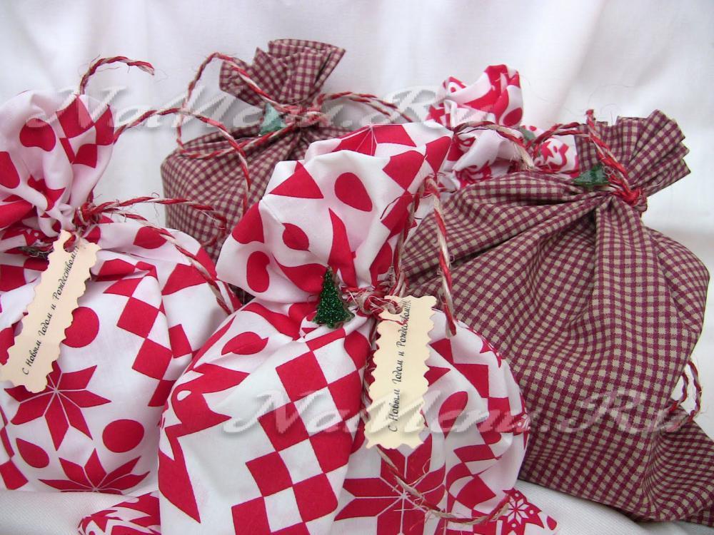 Фото упакованных новогодних подарков