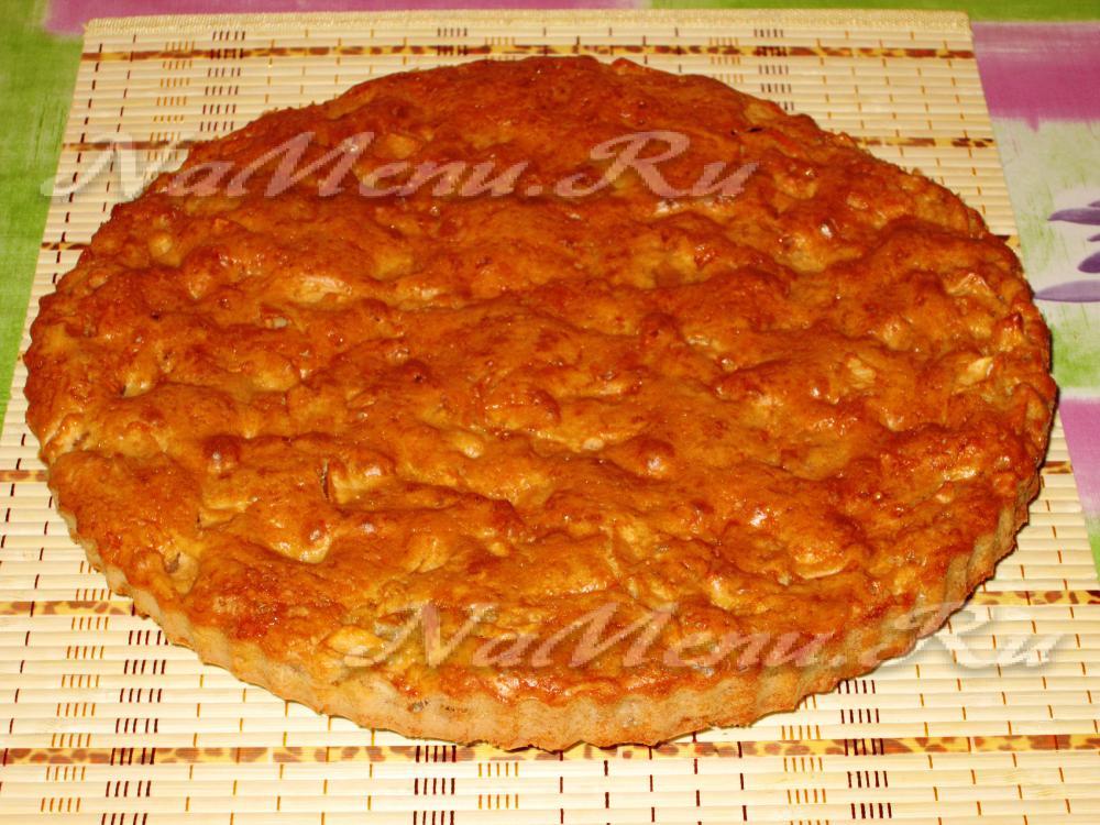 Пирог из яблок простые рецепты