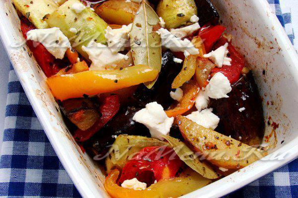Овощное рагу с мясом и баклажанами и кабачками рецепт с фото
