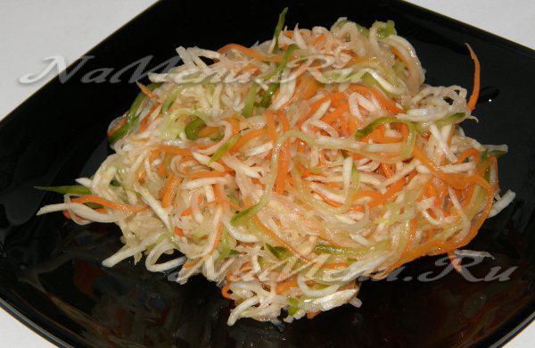 салат из стеблей сельдерея для похудения рецепт