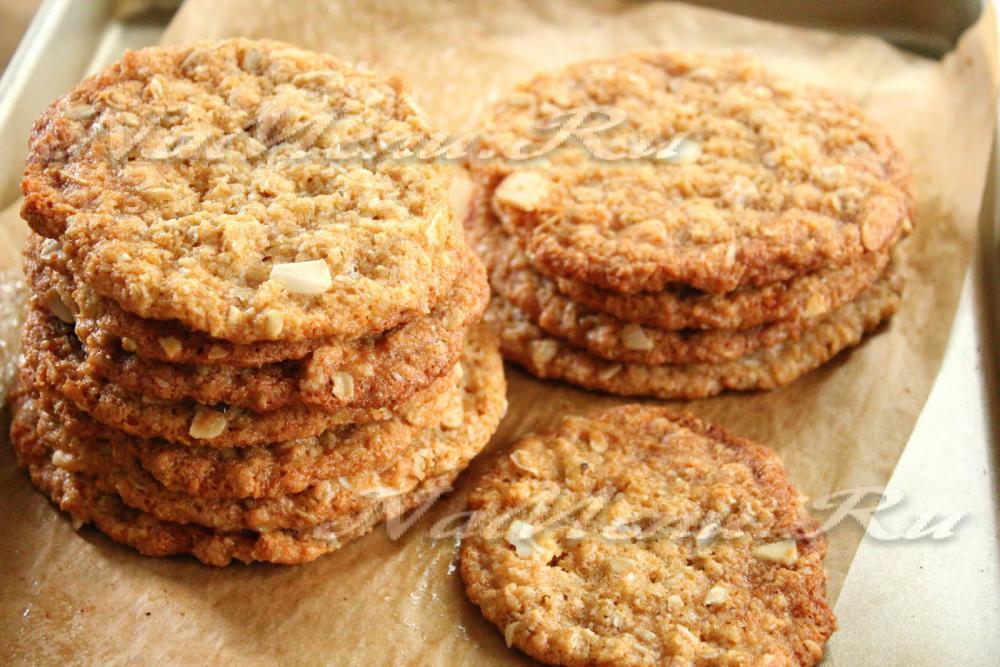 Рецепт овсяных печений в домашних условиях