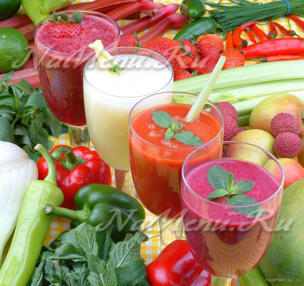 Овощи в блендере рецепты