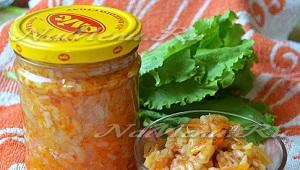 Рецепты салатов с кабачками и рисом на зиму