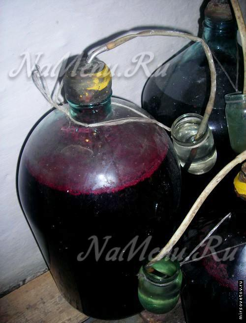 Как сделать из винограда изабелла вино в домашних условиях