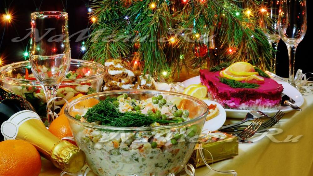 Лучшие продукты для нового года
