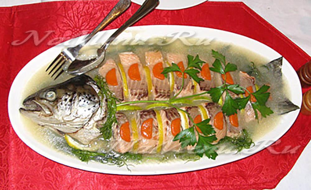Блюдо из рыбы пошагово с фото
