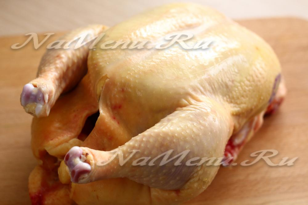 Как быстро надо разделывать курицу от внутренностей
