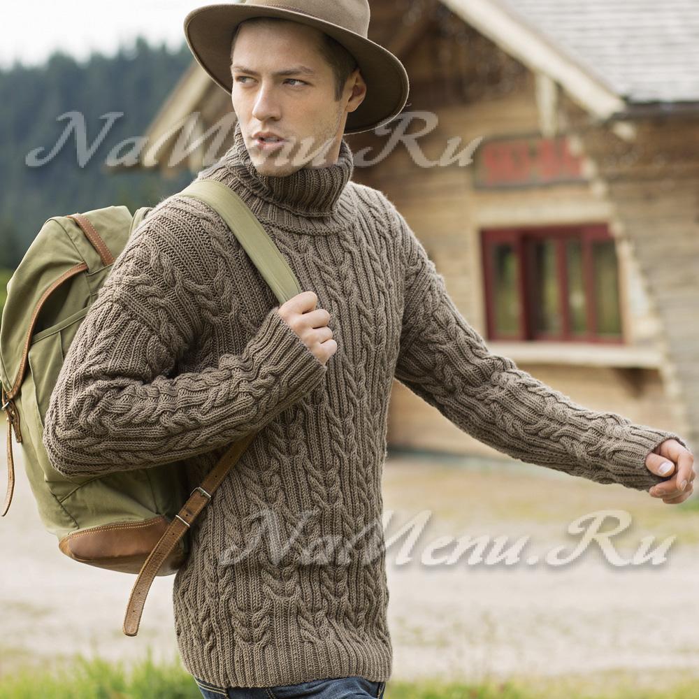 схема вязания нового свитера на зиму
