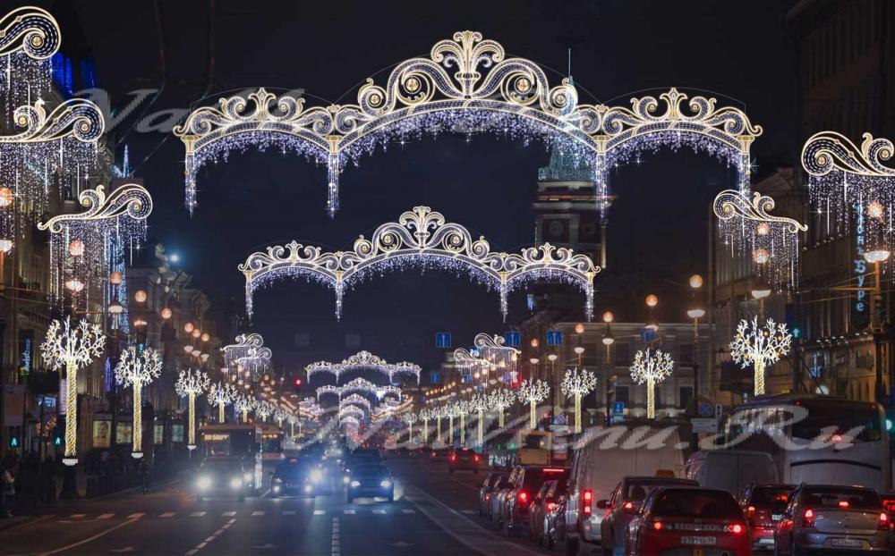 Новый год 2017 в петербурге