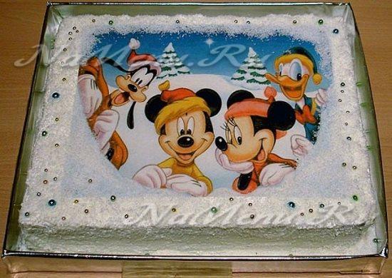 Рисунок для фотопечати на торт