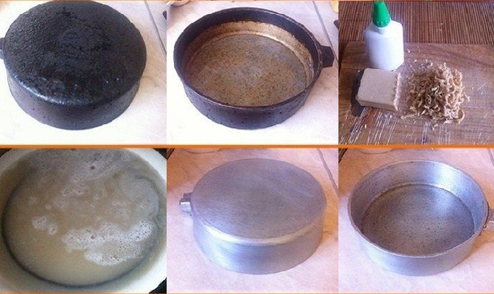 Чистка сковородки в домашних условиях от нагара 895