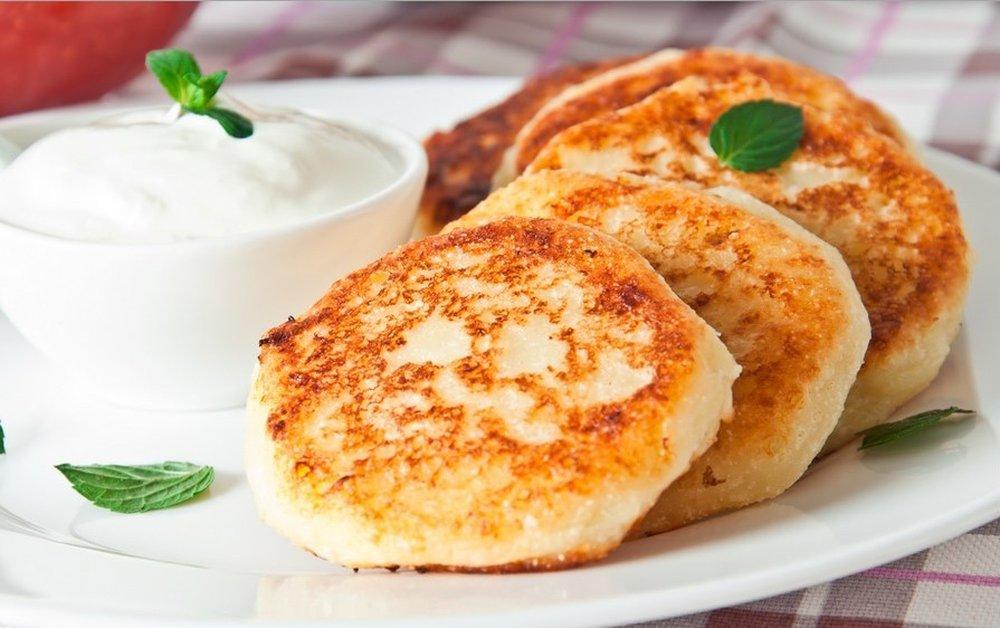 Сырники пп из творога рецепт с пошагово 5