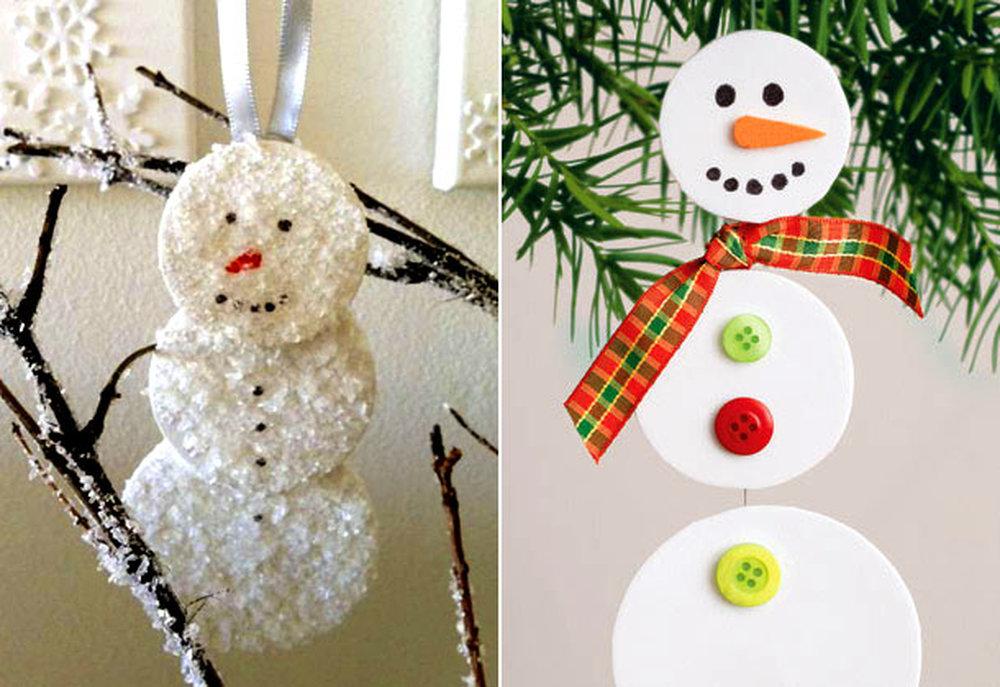 Снеговик своими руками и бумаги