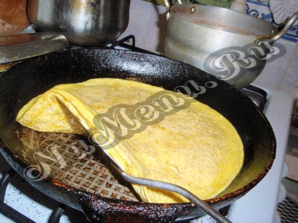 Как сделать омлет без сковороды