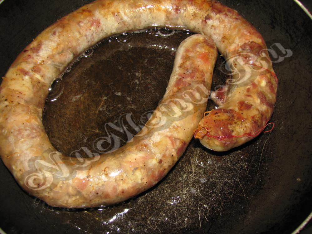 Домашняя колбаса рецепт без кишок